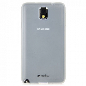 Накладка на заднюю часть Melkco Poly Jacket TPU Case для Samsung Galaxy Note 3 Neo N7505 Transparent Mat
