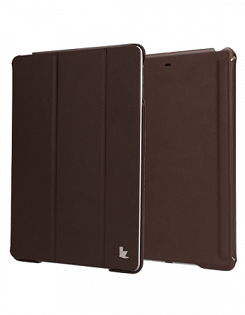 Чехол JisonCase Smart Leather Case Premium Edition для IPad Air Brown