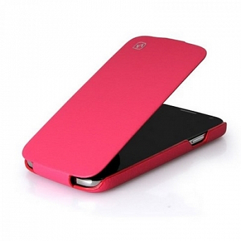 Чехол Hoco Royal Series Duke Leather case for Samsung I9500 Pink