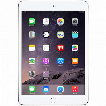 Apple iPad mini 3 128Gb Wi-Fi Silver White