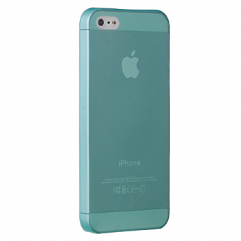 Чехол OZAKI для Apple IPhone 5 O!coat 0.3 JELLY Cyan