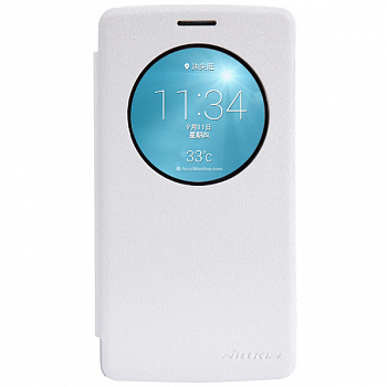 Чехол Nillkin Fresh series leather case для LG G3 D855/D856 White