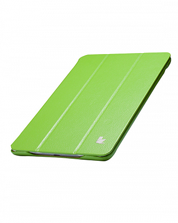 Чехол JisonCase Smart Leather Case для iPad mini Green
