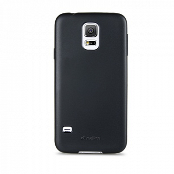 Накладка на заднюю часть Melkco Poly Jacket TPU Case для Galaxy S5 Mini G800 Black Mat