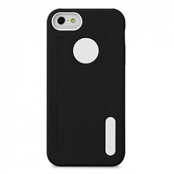 Накладка на заднюю часть Melkco Double Layer Case Kubalt Type для Apple iPhone 5 Black/White