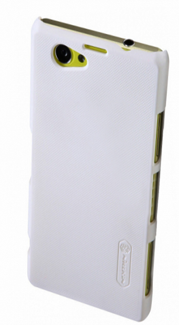 Чехол Nillkin Super Frosted Shield для Sony Xperia Z1 Compact D5503 White