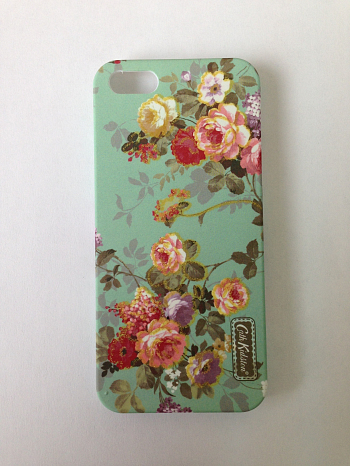 Чехол для Apple iPhone 5 Cath Kidston Lacquered Shell Case Flowers 2