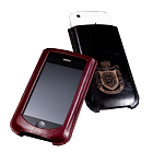 MacLove Leather Case Lucca Black for iPhone 4