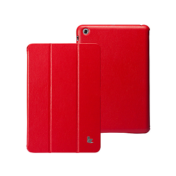 Чехол JisonCase Smart Leather Case для Samsung Tab Pro 8.4 T320/T325 Red