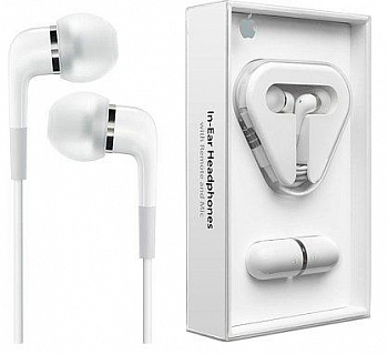 Наушники Apple In-Ear Headphones for Iphone MA850G/A
