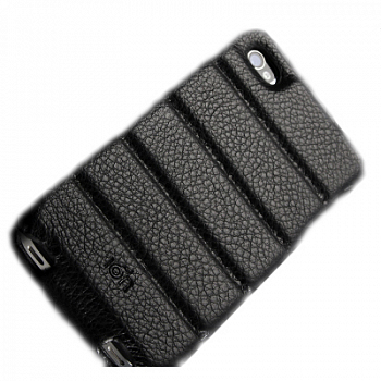 ION Hellboy Flip Cover Buffalo Hides Black for iPhone 4