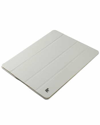 Чехол JisonCase Smart Leather Case Premium Edition для IPad 4 / IPad 3 / IPad 2 White