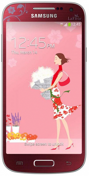 Samsung I9190 Galaxy S4 mini La Fleur Red РСТ