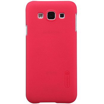 Чехол Nillkin Super Frosted Shield для Samsung Galaxy E5 E500H Red
