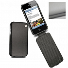 Noreve Housse Cuir Tradition Ivoire for iPhone 4