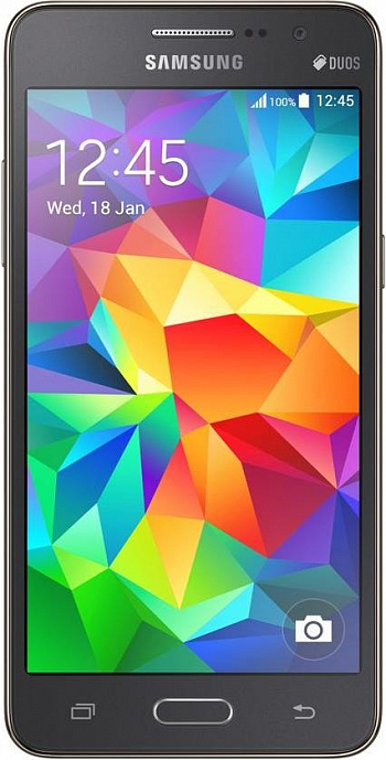 Samsung G530H Galaxy Grand Prime 8Gb Dual Sim Grey РСТ