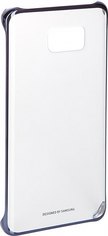 Чехол Samsung EF-QN920CBEGRU для Samsung Galaxy Note 5 N920C Transparent/Blue