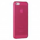 Чехол OZAKI для Apple IPhone 5 O!coat 0.3 JELLY Red
