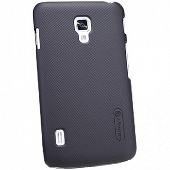 Чехол Nillkin Super Frosted Shield  для Optimus L7 II / P715 Black