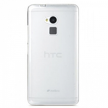 Накладка на заднюю часть Melkco Poly Jacket TPU Case для HTC One Max Transparent Mat