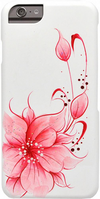 Накладка iCover для Sony Xperia Z1 Compact D5503 Hand Printing Flower Pink