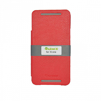 Чехол Red Line Ibox Premium для HTC One Book type red