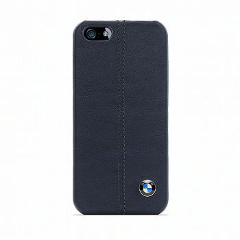 Накладка BMW Real Leather Hard case для Iphone 5/5s