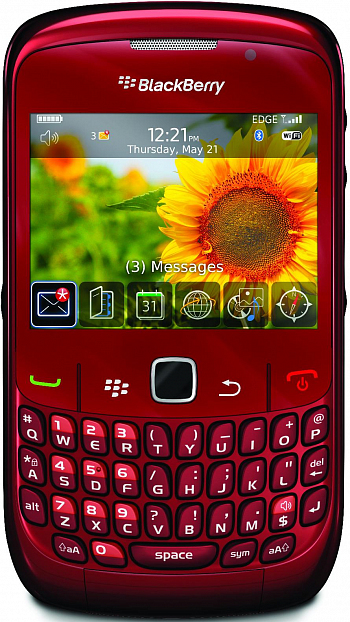 Blackberry Curve 8520 Red