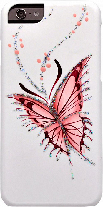 Накладка iCover для Sony Xperia Z1 Compact D5503 Hand Printing Happy Butterfly