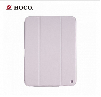 Чехол HOCO Crystal Series Leather Case для Samsung Galaxy Tab3 10.0 P5200/P5210 White