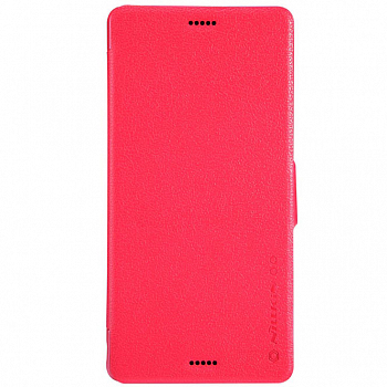 Чехол Nillkin Fresh Series Leather Case для Sony Xperia Z3 D6603/D6633 Red