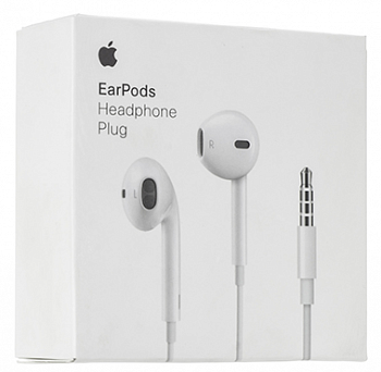Наушники Apple EarPods с пультом MD827ZM White
