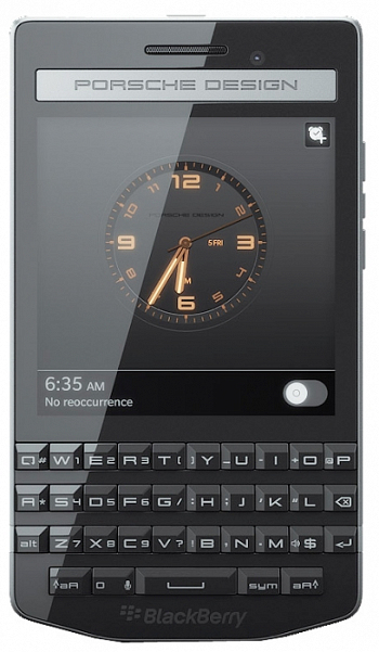 BlackBerry Porsche design P'9983 Black