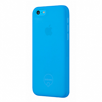 Чехол OZAKI для Apple IPhone 5C O!coat 0.3 JELLY Blue