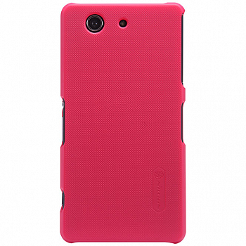 Чехол Nillkin Super Frosted Shield для Sony Xperia Z3 Compact D5803/D5833 Red