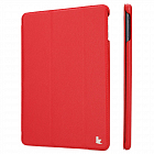 Чехол JisonCase Smart Leather Case для IPad Air Red