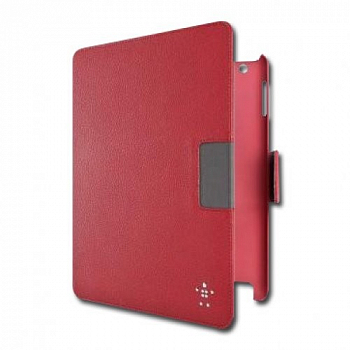 Чехол на Belkin Cinema Swivel Leather Folio with Stand 759cwC02 для Apple iPad 2 / iPad 3 / iPad 4 Red