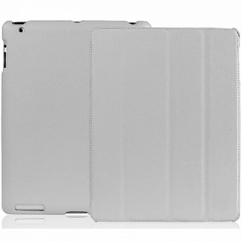 Чехол JisonCase Smart Leather Case Premium Edition для IPad Air Gray