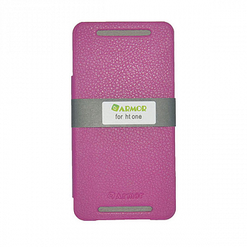 Чехол Red Line Ibox Premium для HTC One Book type purple