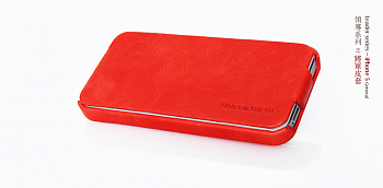 Чехол BOROFONE General leather case for IPhone 5 Red