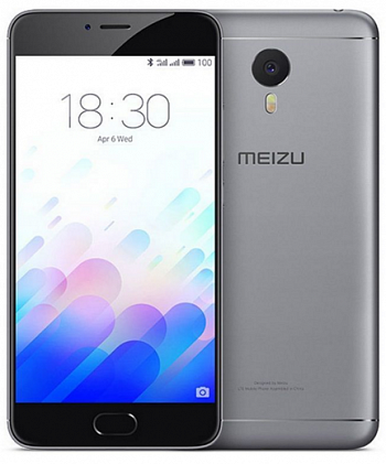 Meizu M3 Note 32Gb Grey Black РСТ