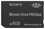 Карта памяти Sony 4Gb Memory Stick Pro Duo