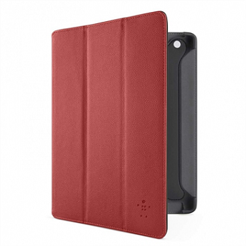 Чехол на Belkin Pro Tri-Fold Folio with Stand для Apple iPad 2 / iPad 3 / iPad 4 Red