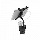 Capdase Car Charger Cup Holder PowerCup 2.2 with Tablet Black CAAPIPAD-CM01 for iPad/iPhone/iPod