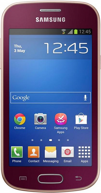 Samsung S7390 Galaxy TREND Wine Red РСТ