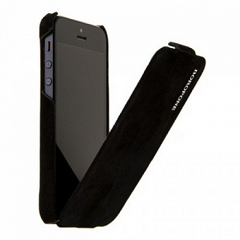 Чехол BOROFONE Shark leather case for IPhone 5 Dark Black