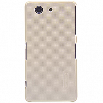 Чехол Nillkin Super Frosted Shield для Sony Xperia Z3 Compact D5803/D5833 Gold