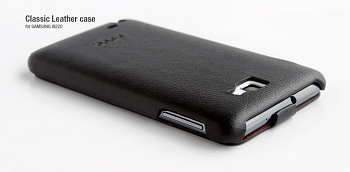 Чехол Hoco Real Leather back cover case for Samsung I9220 Note Black