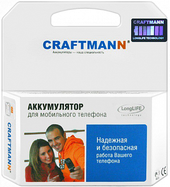 Аккумулятор для Samsung Galaxy S4 mini Duos i9192 3800 mAh White Craftmann