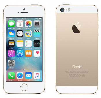 Apple iPhone 5S 16Gb Gold (FF354RU/A) LTE 4G восстановленный